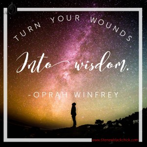Oprah wounds into wisdom